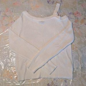 Express Asymmetrical Sweater